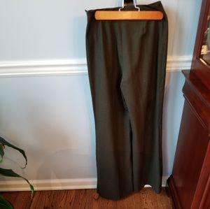 Ralph Lauren Brown Wide Leg Dress Pant Black Label